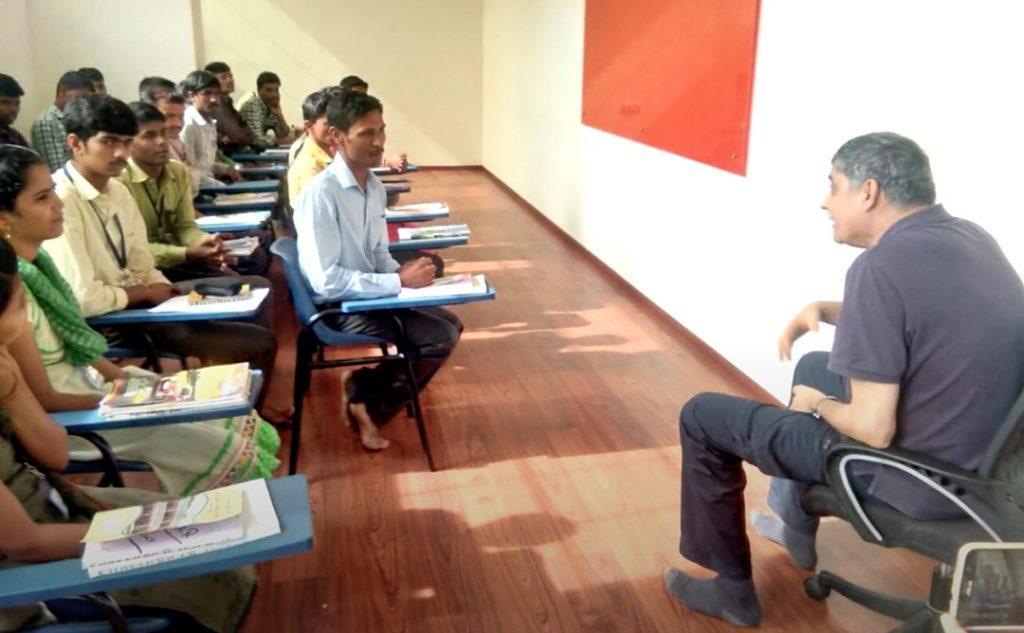 Vivek Talwar visits Head Held High