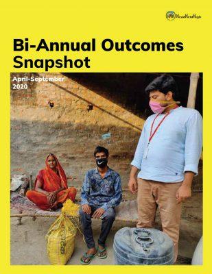 Bi-Annual Report 2020-21 . Head Held High Foundation